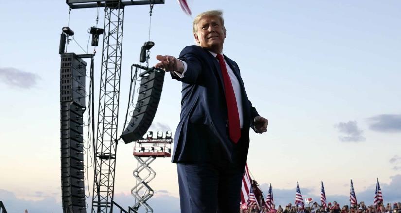 Trump dio negativo a prueba de Covid asegura médico de la Casa Blanca
