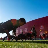 Entrenamiento de Xolos en el estadio Caliente