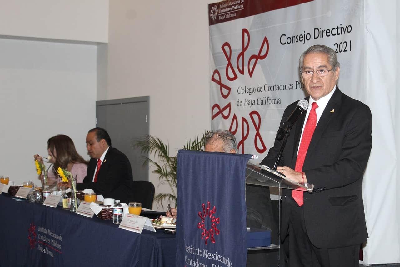 Toma protesta Román Barreto como nuevo presidente del CCPBC para el periodo 2020-2021