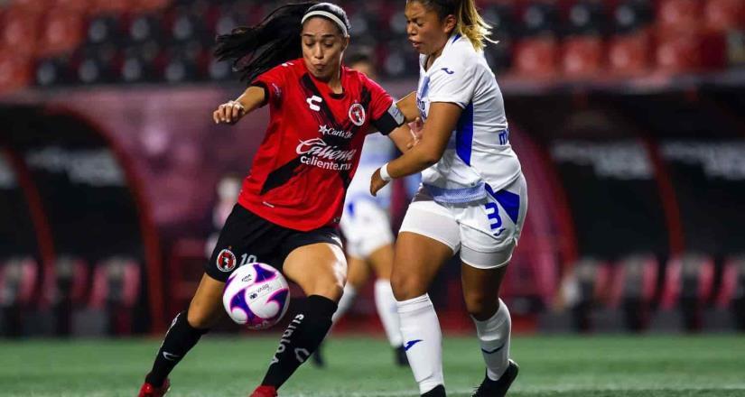 Club Tijuana Femenil 1-1 Cruz Azul en marcador final