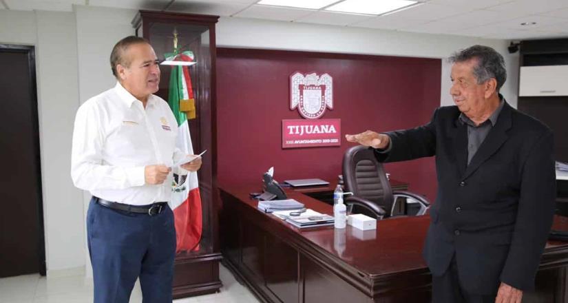 Toma protesta Pérez Canchola como nuevo titular de la Dirección Municipal de Atención al Migrante