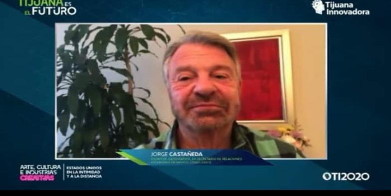 Presenta ex canciller Jorge Castañeda la idiosincrasia de Estados Unidos