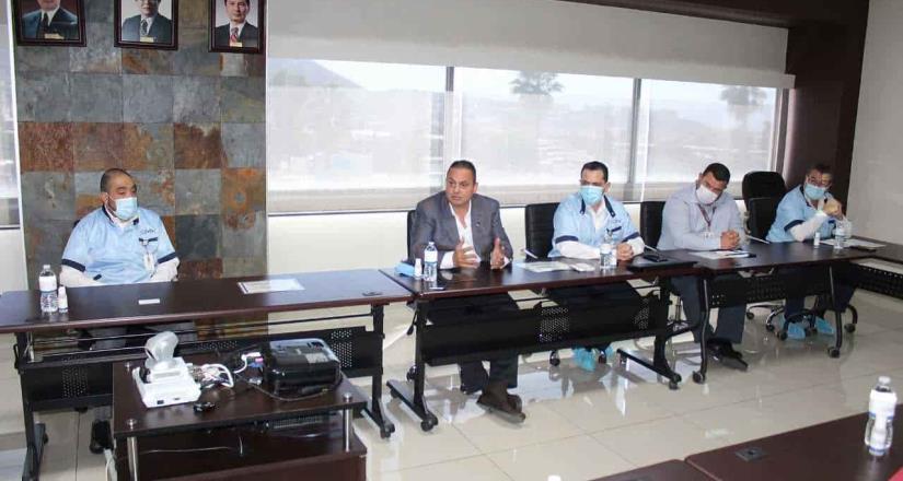 Establecen industriales mesas de trabajo con el gobierno municipal