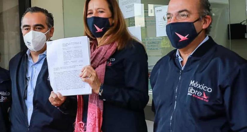 Niegan magistrados registro del partido México Libre de los Calderón