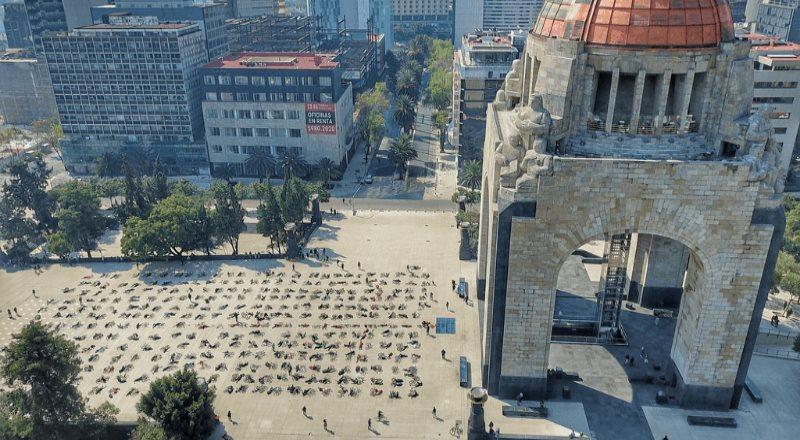 Luto al ciclista, monumento se vuelve tendencia a manera de tributo
