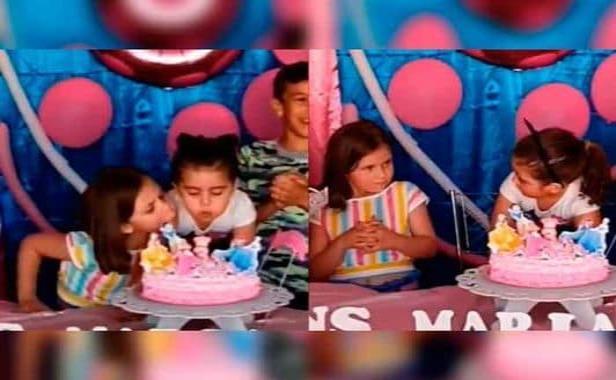 Reacciones y memes más virales de la niña que apaga las velas de un pastel que no es suyo