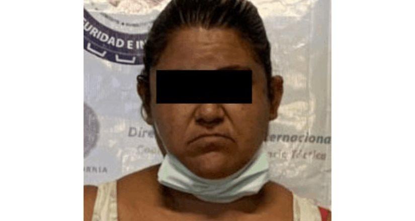 Fiscalía Estatal captura a mujer que contaba con orden de aprehensión por narcomenudeo