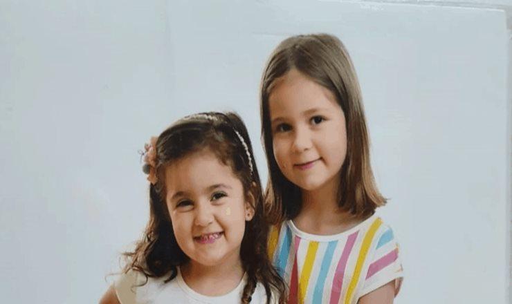 Maria Antonia y Maria Eduarda: las virales hermanas del cumpleaños