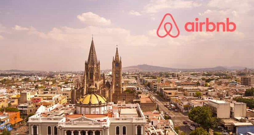 Los viajeros de Airbnb gastaron un estimado de 2,800 mdd en México durante 2019