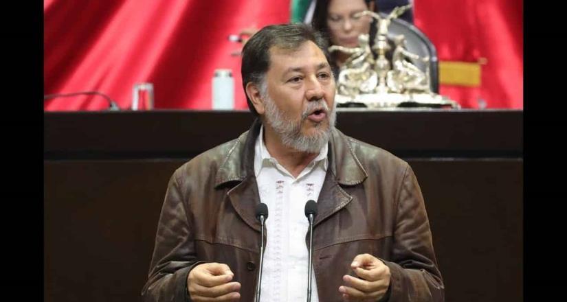 Gerardo Fernández Noroña da negativo a Covid-19
