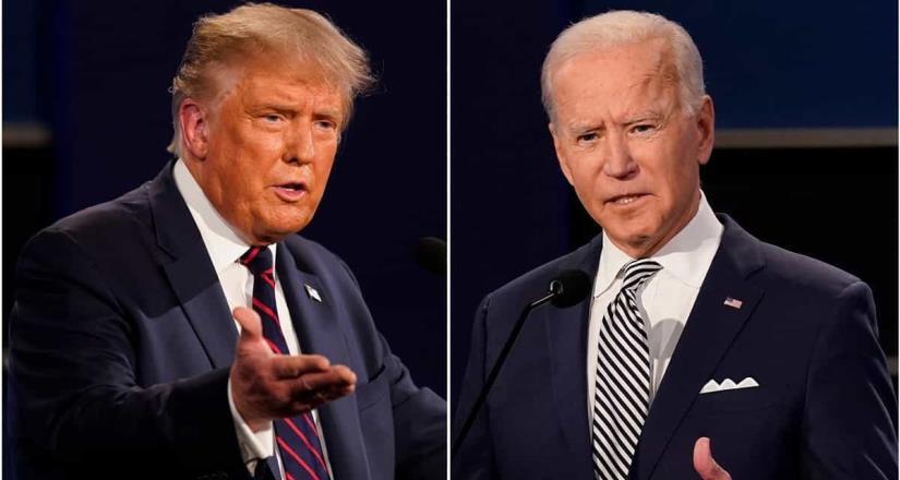 Trump y Biden al fin debaten; nada cambia