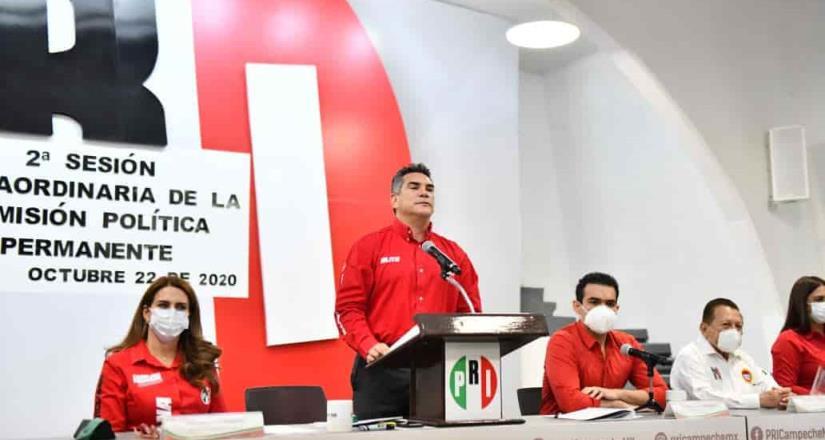 La renovación del PRI es uno de los pilares de su triunfo en las elecciones: Alejandro Moreno
