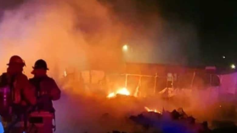 Mueren cinco menores durante incendio en BCS