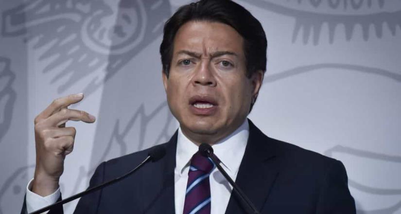 Mario Delgado, dirigente de Morena propone un plan de acción