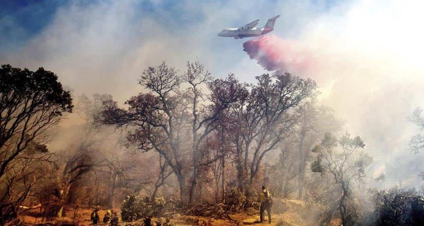 Los incendios  de California son el segundo y tercero más grande que azota en el estado