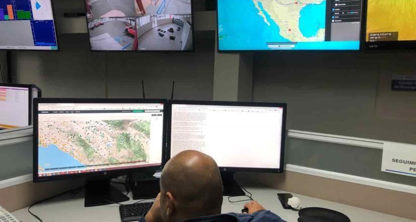 Pronostica Protección Civil estatal vientos fríos para Baja California