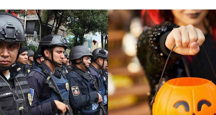Operativo en vialidades por el Día de Brujas en Tijuana; se solicita no salir a pedir dulces