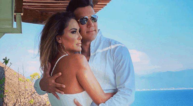 A Ninel Conde se le cae su boda con Larry Ramos