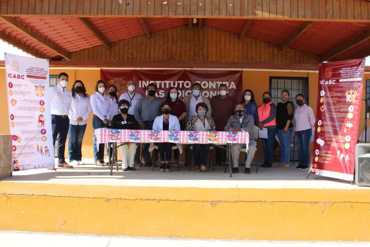 ICABC presentó programas traducidos a Zapoteco, Mixteco y Triqui en San Quintín