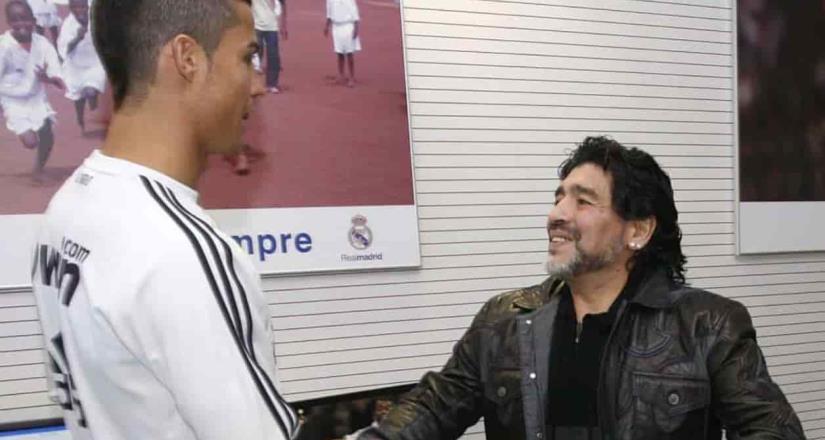 La felicitación de Cristiano a Maradona