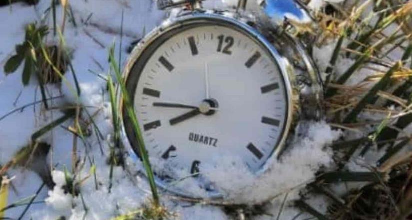 Hola al horario invernal