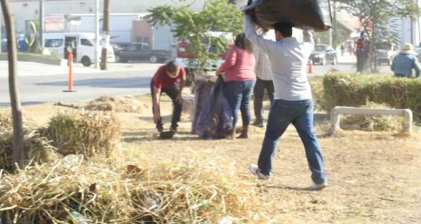 Reitera Municipio más de 24 toneladas de desechos del bulevar Limón Padilla