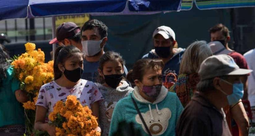 México llega a 929 mil casos; hay 91,895 muertos