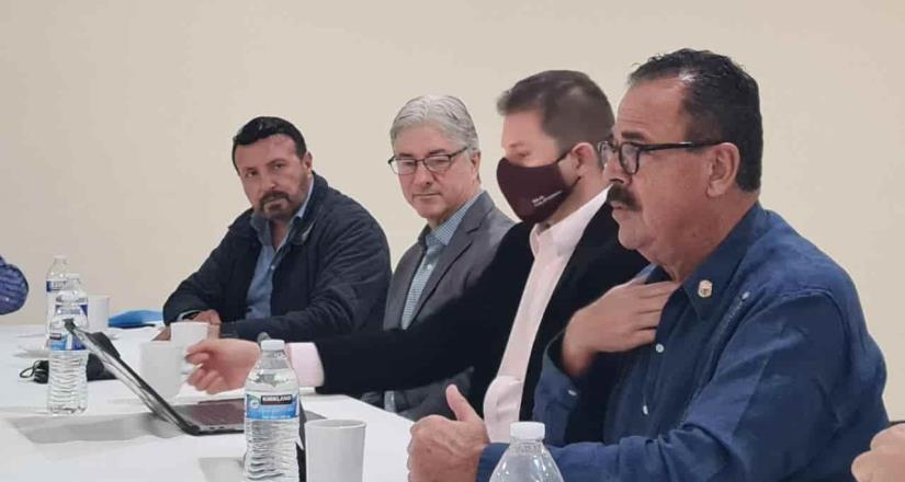 Propone Mario Escobedo coordinación a organismos empresariales de BC