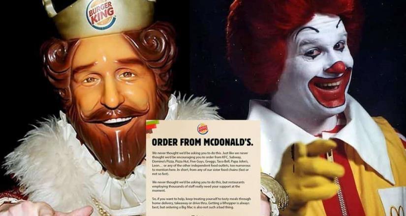 ¿Por qué Burger King pide que compres una Big Mac?