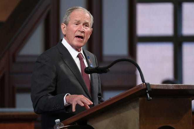 George W. Bush, felicita a Biden y Kamala