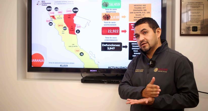 """BC en """"Naranja"""", convoca gobierno estatal a reforzar medidas preventivas en invierno"""