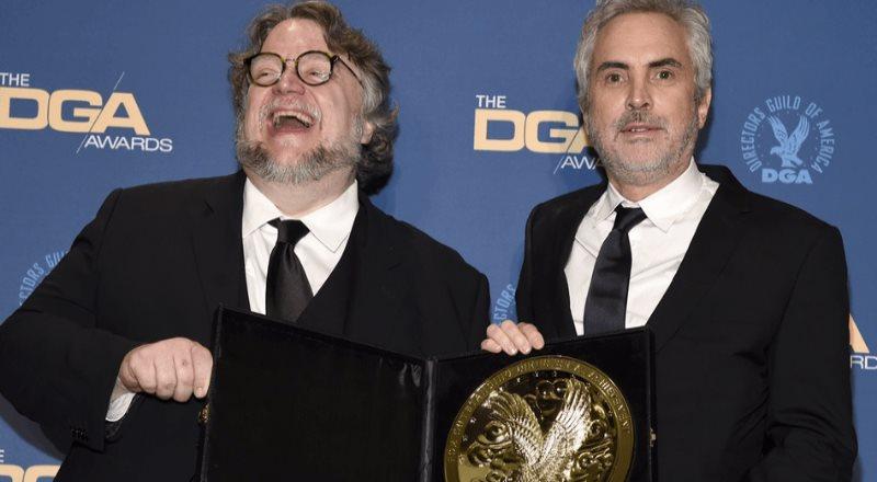 Guillermo del Toro y Alfonso Cuarón, faros para jóvenes cineastas