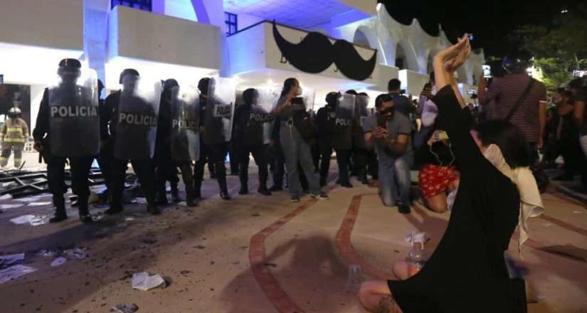 Presentará denuncia contra policías por balazos en protesta feminista