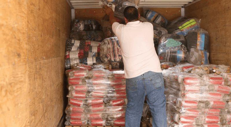 Envía Tamaulipas 20 toneladas de ayuda a Tabasco
