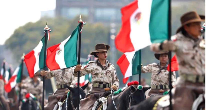 Alistan escenificación y desfile militar por la Revolución Mexicana