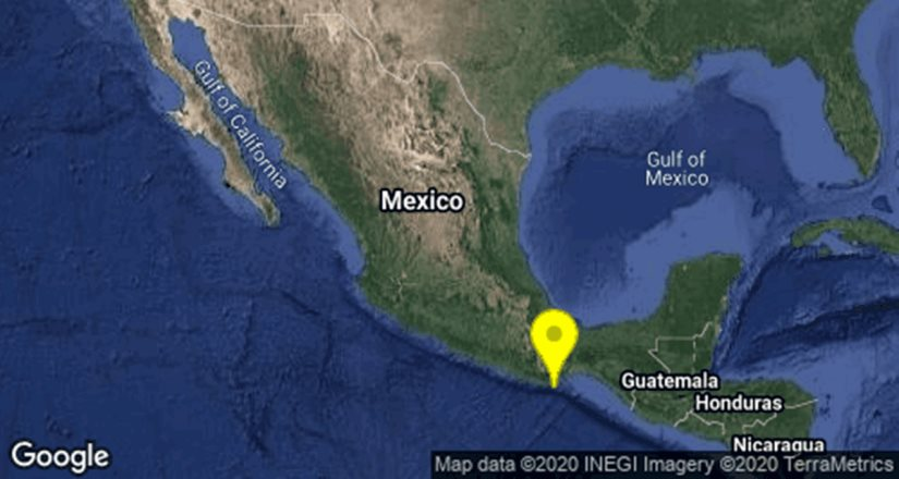 Se registra sismo magnitud 4.2 en Oaxaca