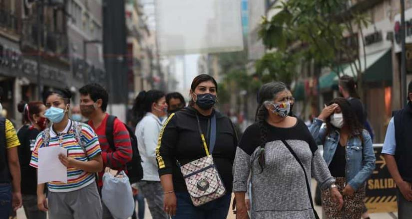 México llega a un millón 6 mil 522 casos; hay 98,542 muertes