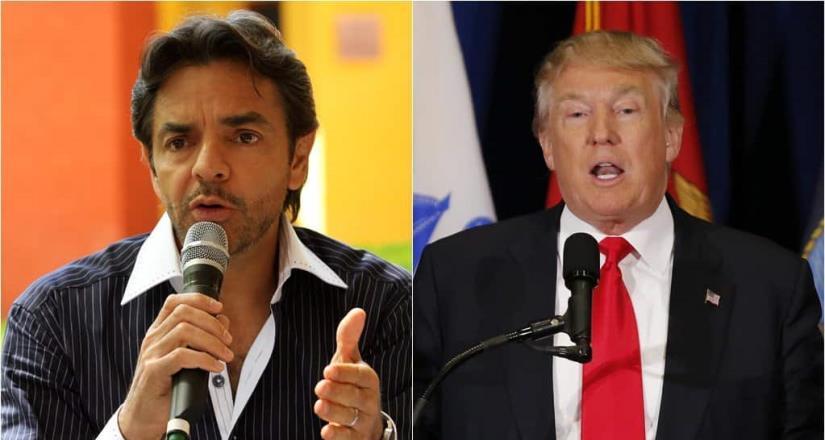 Trump hace berrinche mientras gente muere por Covid: Derbez