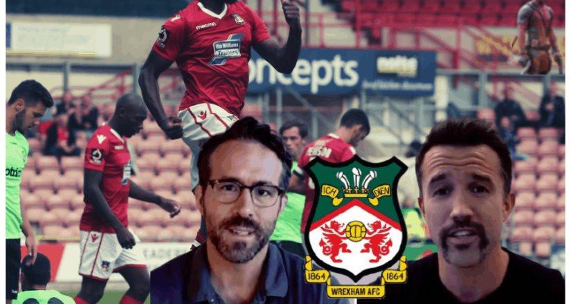 Ryan Reynolds y Rob McElhenney adquieren un equipo de futbol inglés de más de 150 años de tradición