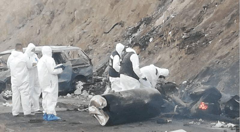 Explosión de pipa en la autopista Tepic-Guadalajara suma 13 muertes