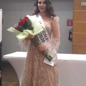 Se coronó a Silvia González como Señora México Internacional 2020 Baja California