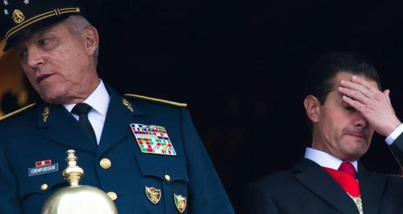EU desestimará cargos contra Cienfuegos para ser juzgado en México