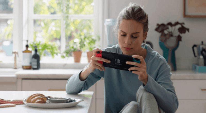 ¿Brie Larson en un comercial de Nintendo? Los fanáticos quedaron fascinados con su participación