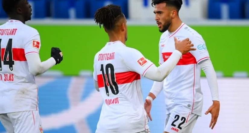 Atacante argentino marcó un golazo con el Stuttgart en la Bundesliga