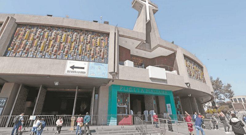 Basílica permanecerá cerrada del 10 al 13 de diciembre
