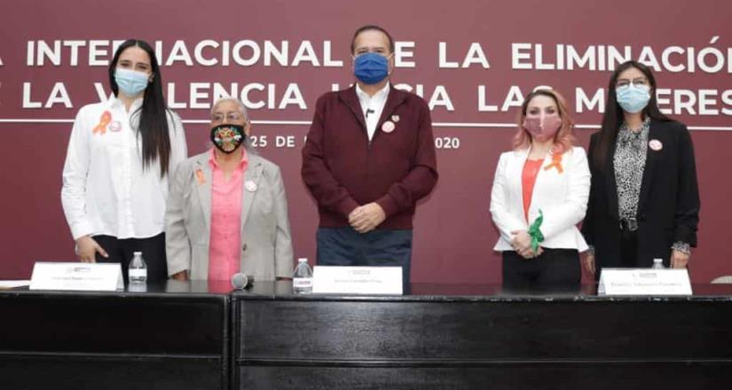Conmemora Arturo González Día Internacional de la violencia contra la mujer