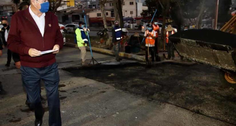 Impulsa Ayuntamiento de Tijuana mejoras viales en Otay Centenario