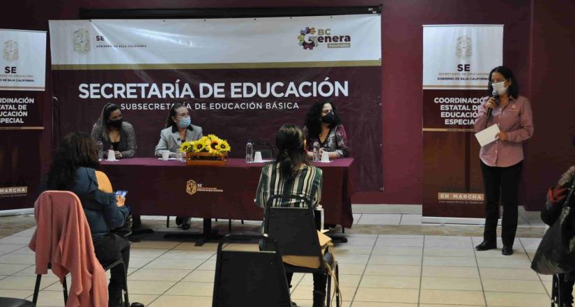 Se entregaron instrumentos de evaluación a directivos de educación especial en Mexicali