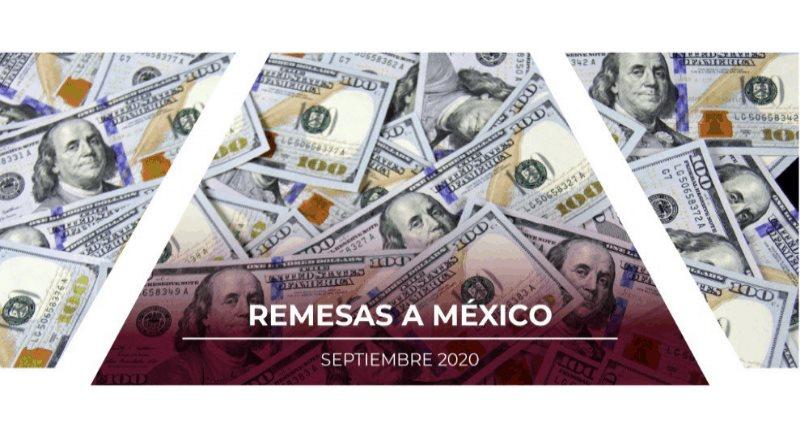 Remesas México Septiembre 2020