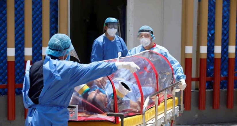 Sin camas libres para pacientes con Covid-19